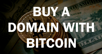 Buy A Domain with Bitcoin